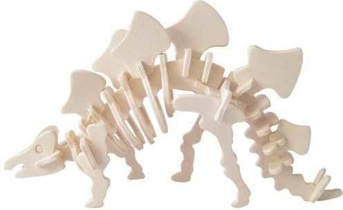 Woodcraft 3D puzzle dřevěná skládačka Stegosaurus CX216