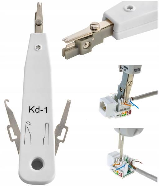 ISO 7944 Nástroj pre vytváranie koncoviek sieťových káblov