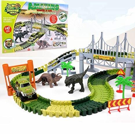 ISO 9417 Dinosaurie autodráha 142 dielikov