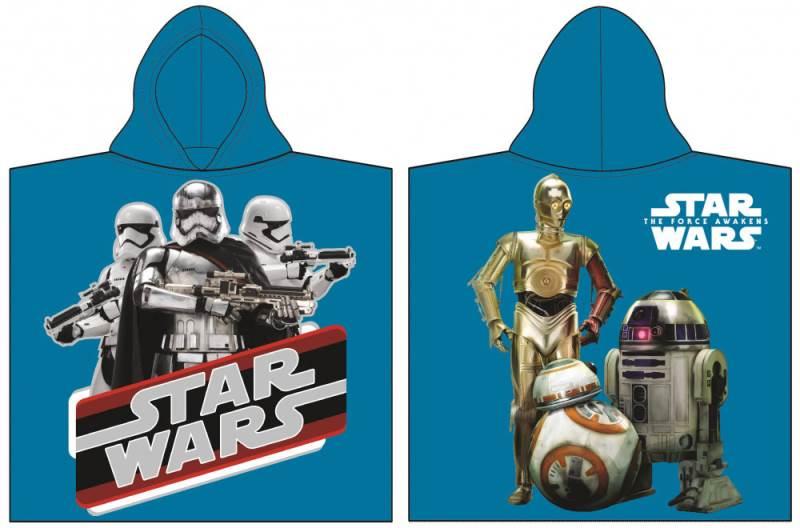 Javoli Pončo Star Wars 60 x 120 cm modré