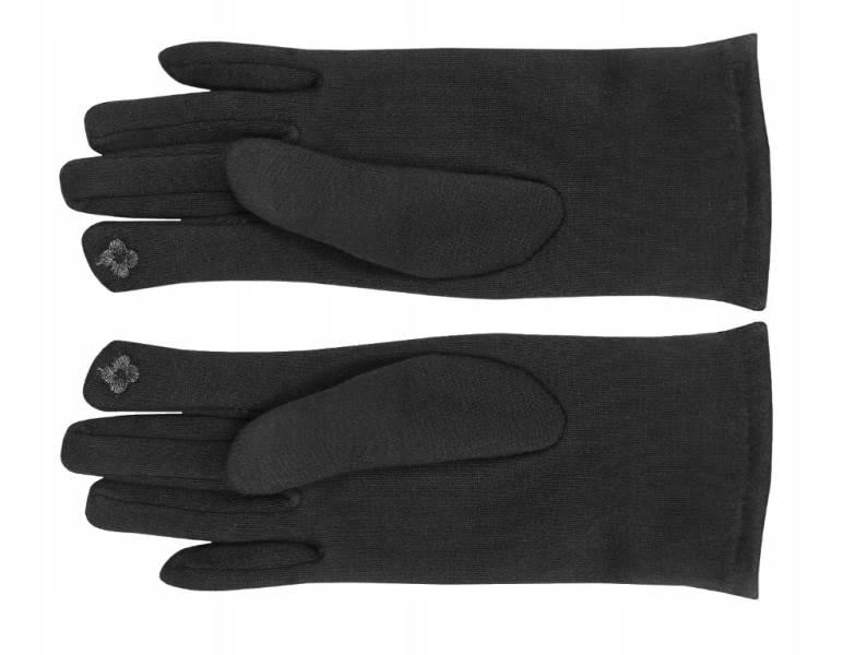 ISO 6413 Zimní rukavice na dotykové displeje 2v1 černé7