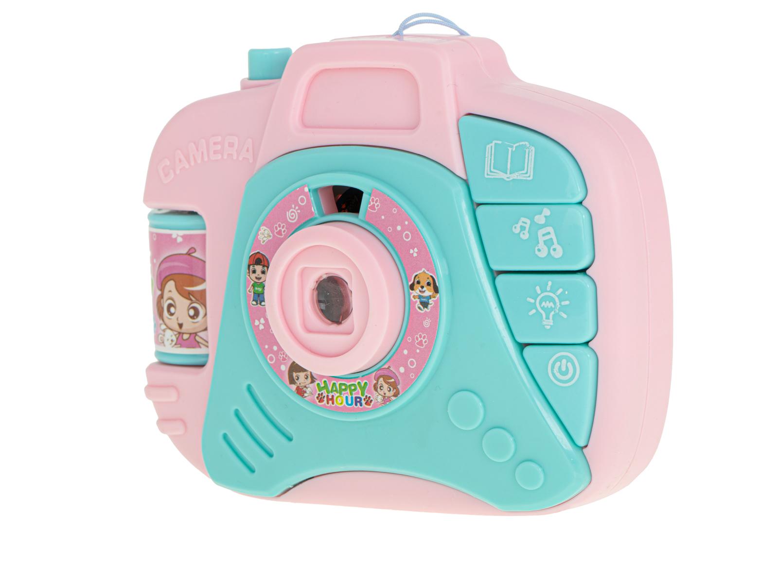 KIK Detský fotoaprát pre najmenších s projektorom