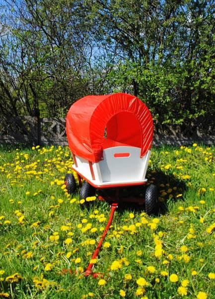 Záhradný vozík s plachtou 150 Kg - WO-8607
