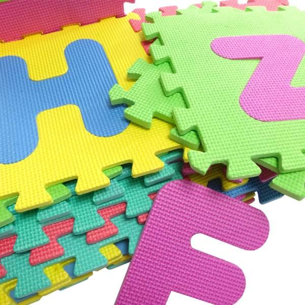 EVA Pěnové puzzle 29 x 29 cm - 26 ks5