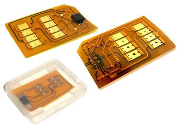 Odblokovací / odomykací SIM karta Turbo SIM N5