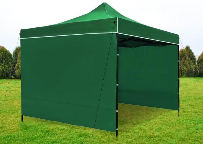 Malatec 3249 Prodejní stánek 3x3 m + 3 stěny zelený4