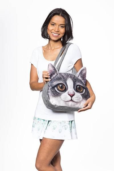 Master Originálne 3D kabelka mačka vzor 3