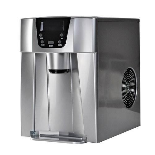 Malatec 9815 Výrobník ledu s dispenzerem vody 12Kg/24h šedý8