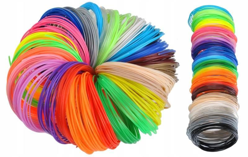 ISO 6809 Sada náplní pre 3D pero 30 x 5m Color