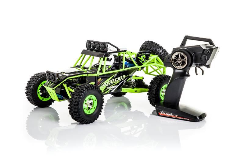 WL toys VODĚODOLNÁ Buggy 12428 1:12 zelená4