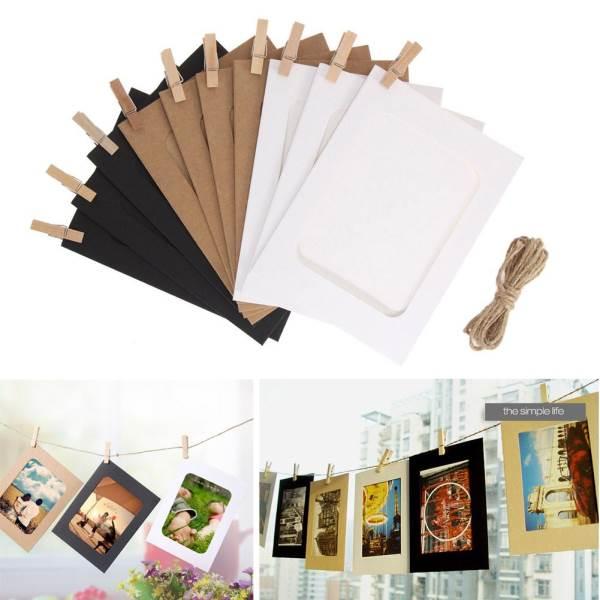 GFT Závesné papierové fotorámčeky 10ks