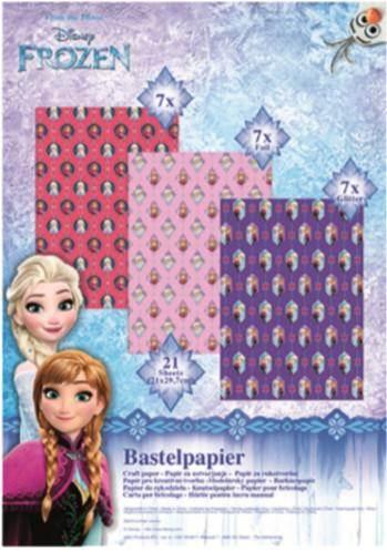 Javoli Origami papier Disney Frozen 21 listov