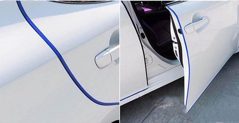 GFT Ochranné lišty na auto 5m tmavo modrá