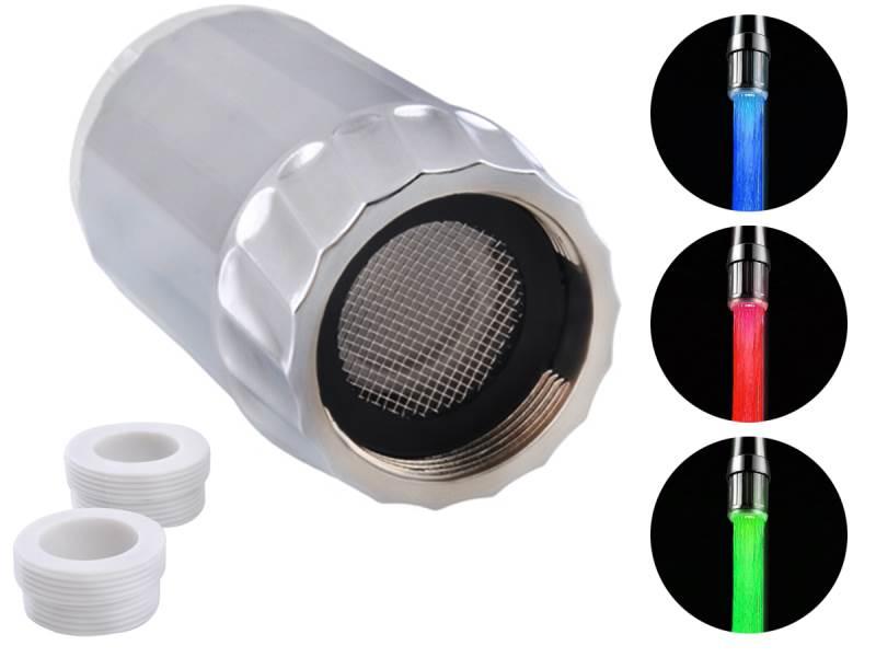 ISO 189 Svietiace perlátor podľa teploty Water Glow