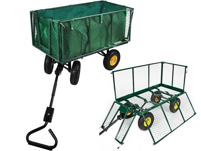 Malatec 840 Zahradní vozík s výklopnými boky 544 Kg