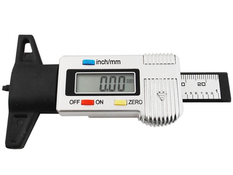 ISO Digitálny merač hĺbky dezénu pneumatík