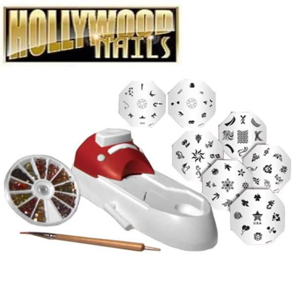Verk Domácí nehtové studio - Hollywood nails