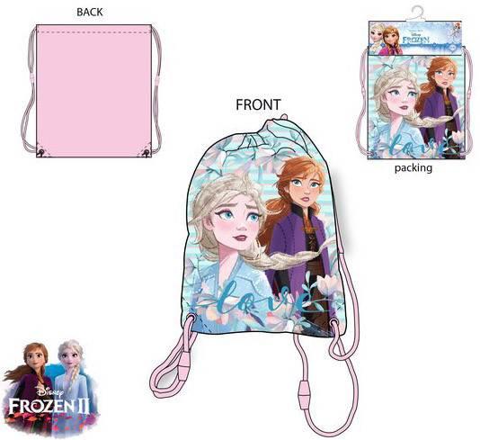 Javoli Detský Vak na chrbát Disney Frozen 37,5 x 31,5 cm