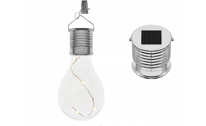 ISO 7036 Solární LED žárovka dekorační na zavěšení