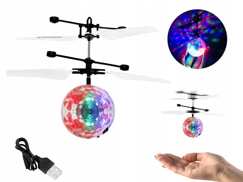 ISO 6241 Lietajúce RC Disco guľa vrtuľník
