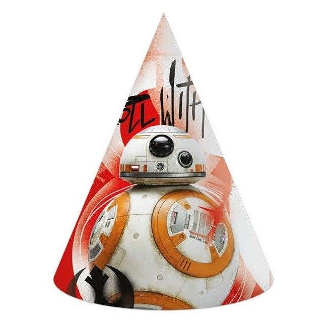 Javoli Papierová párty čiapočka Star Wars 6 ks III