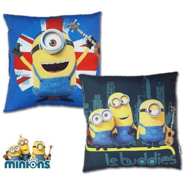 ISO Textilní polštář Mimoni 35 x 35 cm