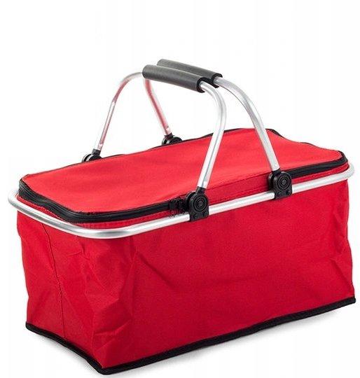 Verk 14194 Nákupný, piknikový košík termo červený