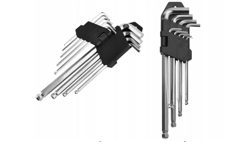 ISO 7063 Imbus Sada klíčů 9ks 1,5-10 mm