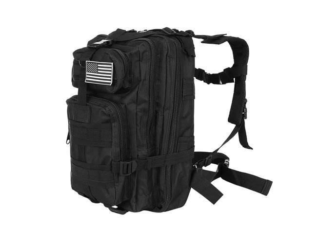 ISO 8915 Vojenský batoh 28L černý