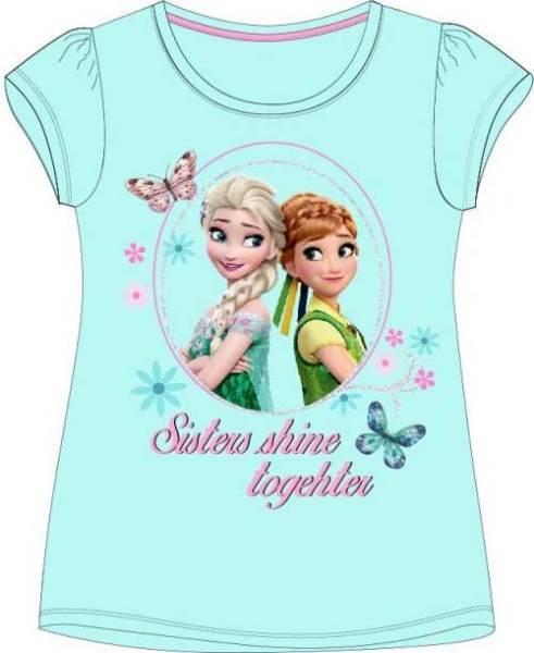 Javoli Detské tričko krátky rukáv Disney Frozen veľ. 116 modré