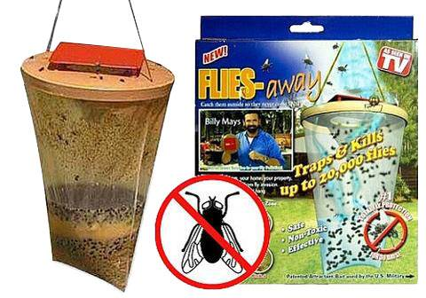 Verk Biologická mucholapka FLIES Away1