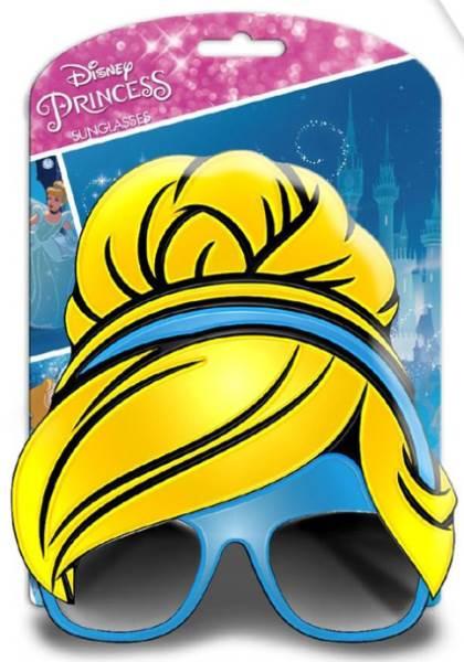 Javoli Slnečné okuliare pre deti 3D Disney Princess modré