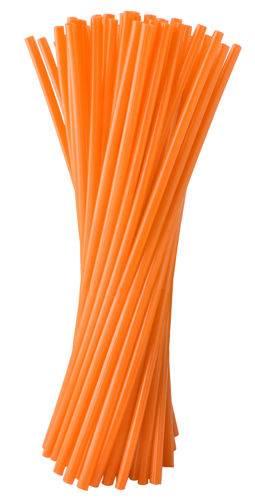 ISO 5172 Plastové návleky na špice motocykli 72 ks - oranžové