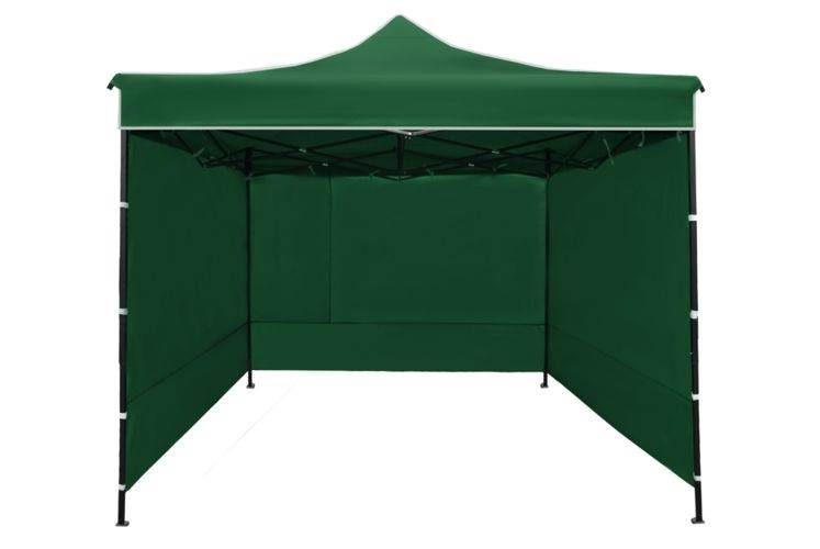 Malatec 3249 Prodejní stánek 3x3 m + 3 stěny zelený3
