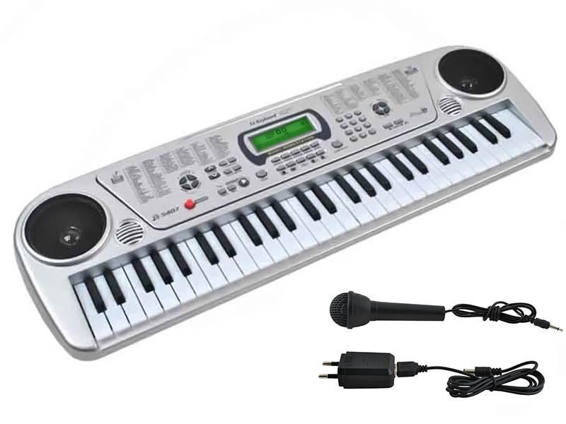 ISO Elektronické klávesy 54 kláves MQ-5407 bazar