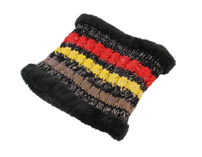 APT Dámska zimná čiapka s nákrčníkom čierna4