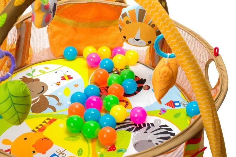 KIK Deka hrací lvíček s míčky 4