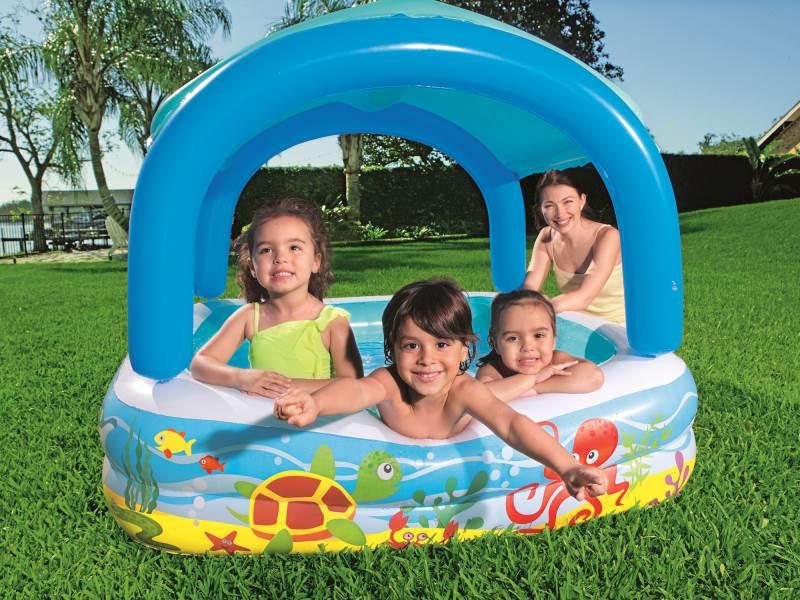 BESTWAY 52192 Bazén so strieškou 147x147x122 cm