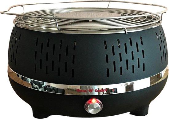Edenberg EB-7102 Bezkouřový gril na dřevěné uhlí