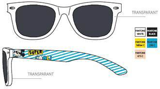Javoli Slnečné okuliare pre deti Disney Mickey transparentné