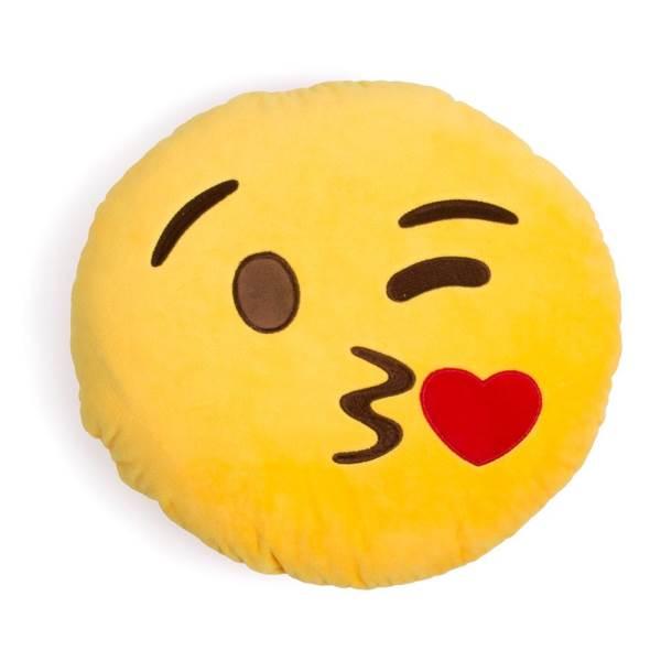 KIK Polštář smajlík Emoji I 30x30cm