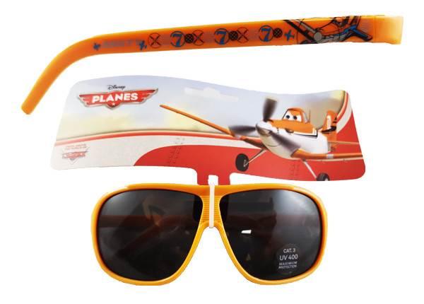Javoli Slnečné okuliare pre deti Disney Lietadlá oranžové