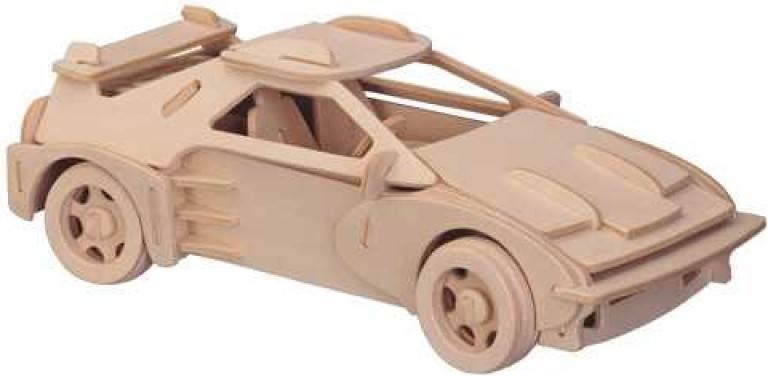 Woodcraft 3D puzzle dřevěná skládačka Ferrari CX546