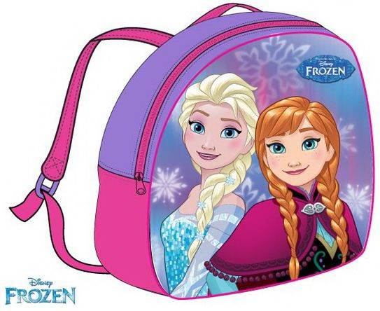 Javoli Detský batoh Disney Frouzen 26,5 x 23,5 x 7,5 cm