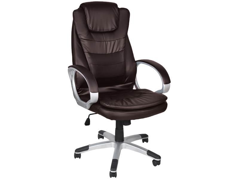 Malatec 2733 Kancelářská židle EKO kůže hnědá