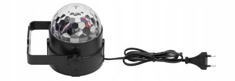 ISO 7056 LED disko gule s diaľkovým ovládaním6