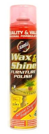 Xanto Wax Shine leštěnka na nábytek se včelím voskem 475 ml