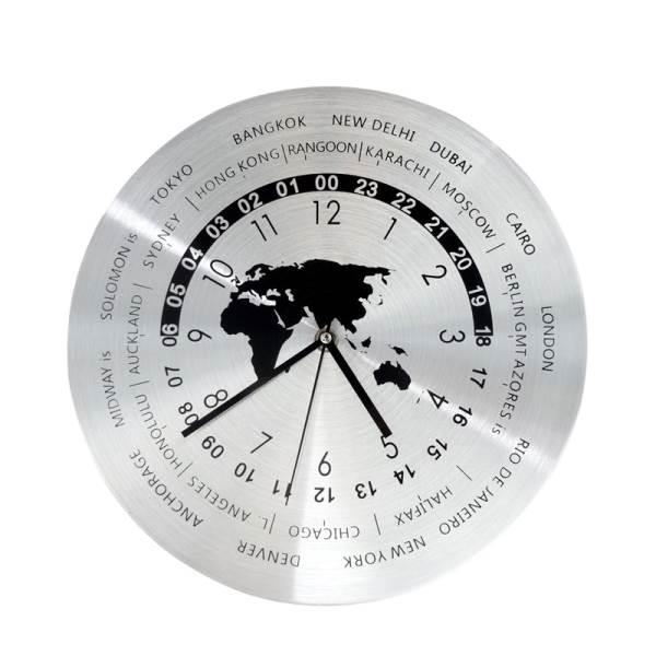 GT K70O Designové nástěnné hodiny Časová pásma 30 cm1