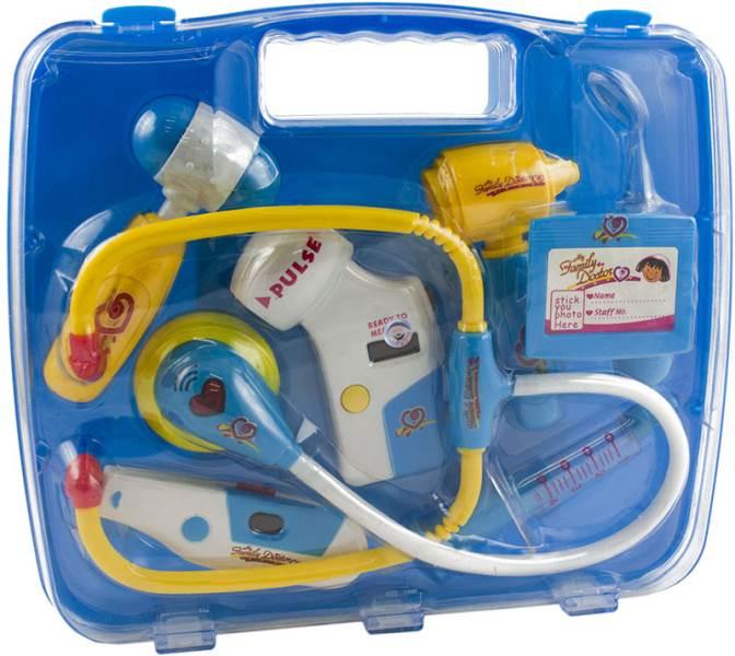 KIK KX9181 Dětský doktorský set modrý