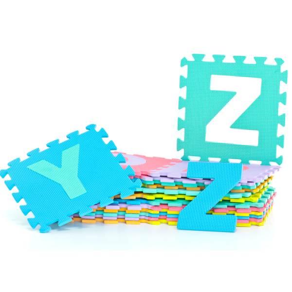 EVA Pěnové puzzle 29 x 29 cm - 26 ks2